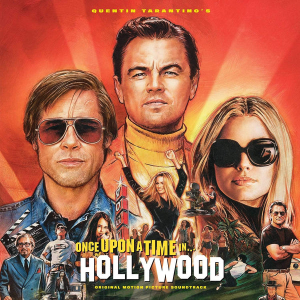 V/A - Quentin Tarantino's Once Upon a Time in Hollywood: Original Soundtrack (2xLP + Movie Poster) Columbia