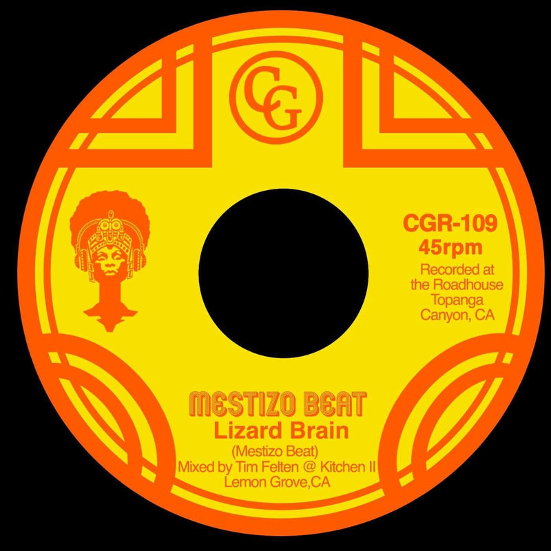 "Mestizo Beat - Lizard Brain b/w Midnite Nurse (7"") Common Good Records"