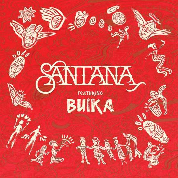 "Santana - Breaking Down The Door b/w Dolor De Rumba (7"") Concord Records"