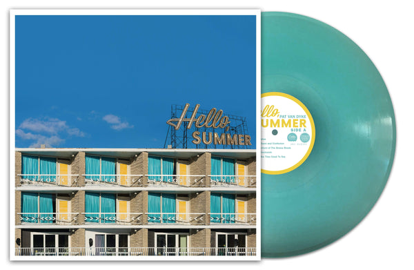 Pat Van Dyke - Hello, Summer (LP - Blue Vinyl + Download Card) Cotter Records