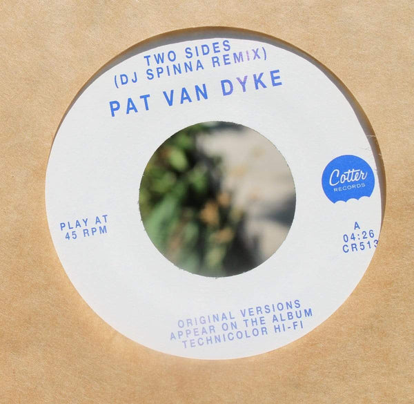 "Pat Van Dyke - Two Sides (DJ Spinna Remix) (7"") Cotter Records"