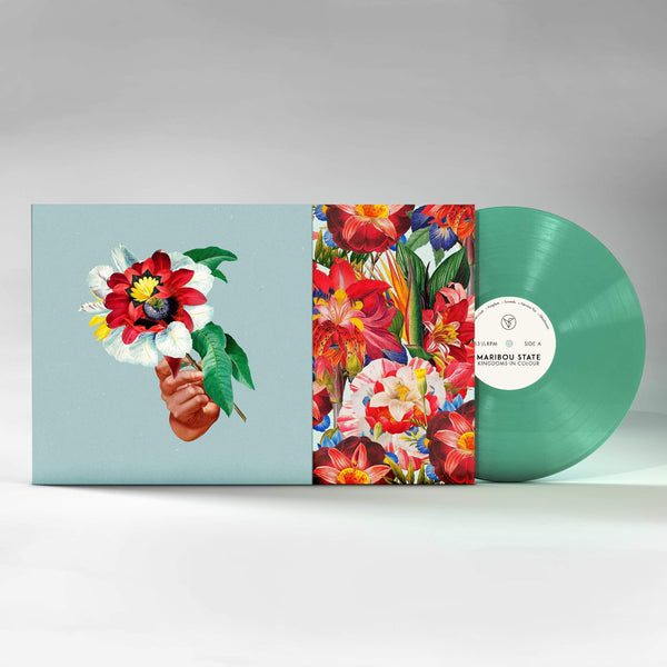 Maribou State - Kingdoms in Colour (LP - Indie-Exclusive Turquoise Vinyl) Counter Records