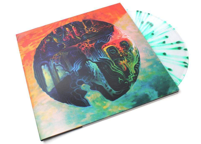 Yppah - Tiny Pause (LP - Clear/Green Splatter Vinyl + Download Card) Counter Records