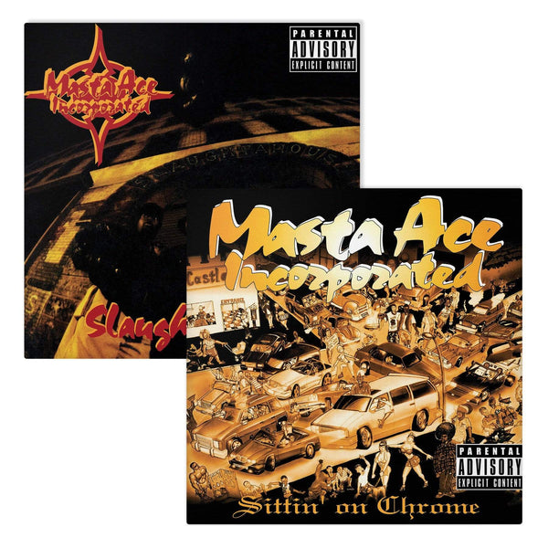 Masta Ace Incorporated - SlaughtaHouse/Sittin' On Chrome (Bundle - 4xLP) Craft Recordings