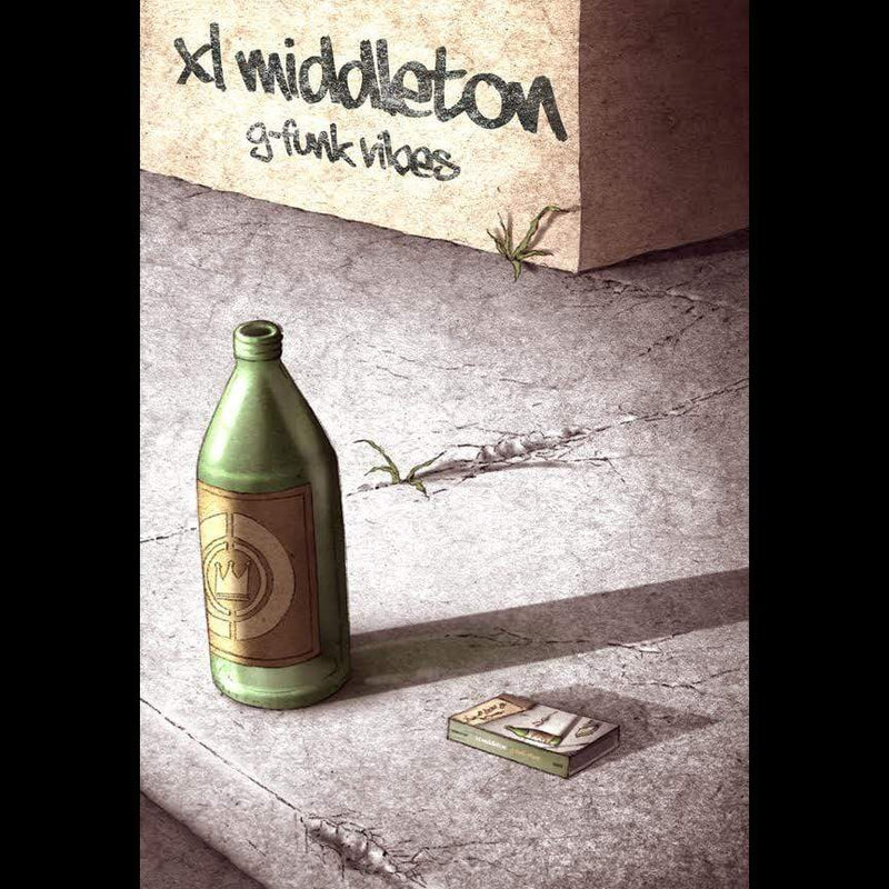 XL Middleton - G-Funk Vibes (Cassette) Crown City Ent.