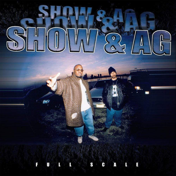 Showbiz & A.G. - Full Scale (2xLP - Blue Splatter Vinyl - Fat Beats Exclusive) D.I.T.C. Studios