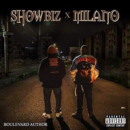 Showbiz x Milano - Boulevard Author (LP - Red Vinyl) D.I.T.C. Studios
