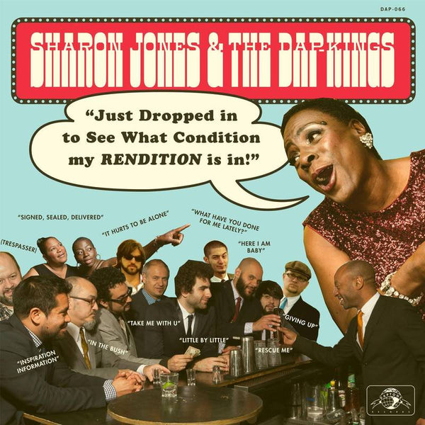 Sharon Jones & the Dap-Kings  - Just Dropped In (To See What Condition My Rendition Was In) (LP) Daptone Records