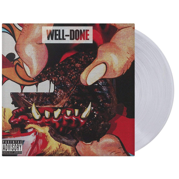 Action Bronson & Statik Selektah - Well Done (2xLP - Clear Vinyl) DCide