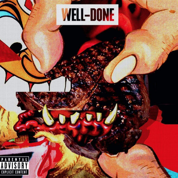 Action Bronson & Statik Selektah - Well Done (2XLP - Limited Edition Orange/White Swirl) DCide