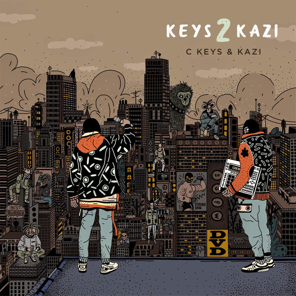 C Keys & Kazi - Keys 2 Kazi (LP) De Rap Winkel Records/Below System Records