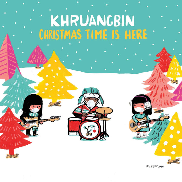 "Khruangbin - Christmas Time Is Here b/w Christmas Time Is Here [Version Mary] (7"" - Translucent Red Vinyl) Dead Oceans"