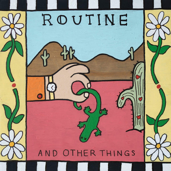 Routine - And Other Things (EP - Coke Bottle Clear Vinyl) Dead Oceans