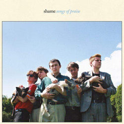 Shame - Songs of Praise (LP - Sky Blue Vinyl) Dead Oceans