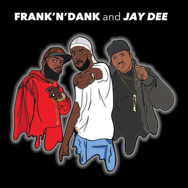 "Frank'n'Dank & Jay Dee - The Jay Dee Tapes (12"" - Red Vinyl) Delicious Vinyl"