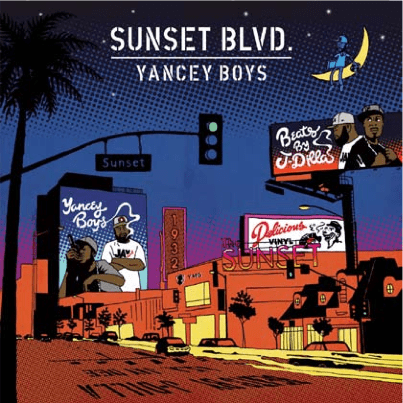 Yancey Boys (Prod. J Dilla) - Sunset Blvd. (2xCD With Bonus Instrumentals) Delicious Vinyl