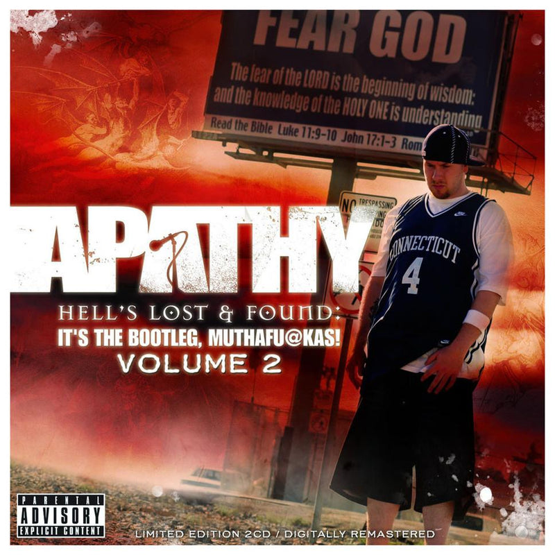 Apathy - It's The Bootleg, Muthafuckas! Volume 2: Hell's Lost & Found (2xCD) Demigodz Entertainment
