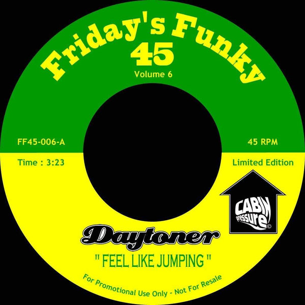 "Daytoner - Feel Like Jumping b/w Perfidious (7"") Dinked Records"