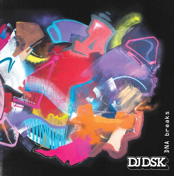 "DJ DSK - DNA Breaks (7"" - Splatter Vinyl) Dinked Records"