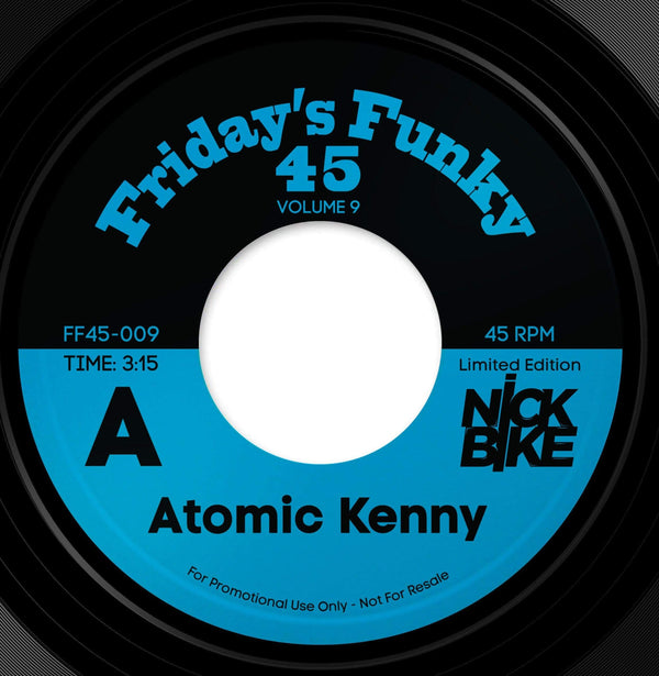 "Nick Bike - Atomic Kenny b/w Atomic Stezo (7"") Dinked Records"