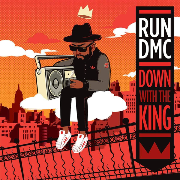 "Run-DMC - Down With The King b/w Instrumental (7"" - Gatefold Sleeve) Dinked Records"