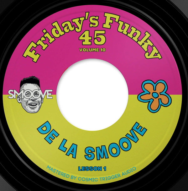 "Smoove - De La Smoove b/w Hall & Soul (7"") Dinked Records"