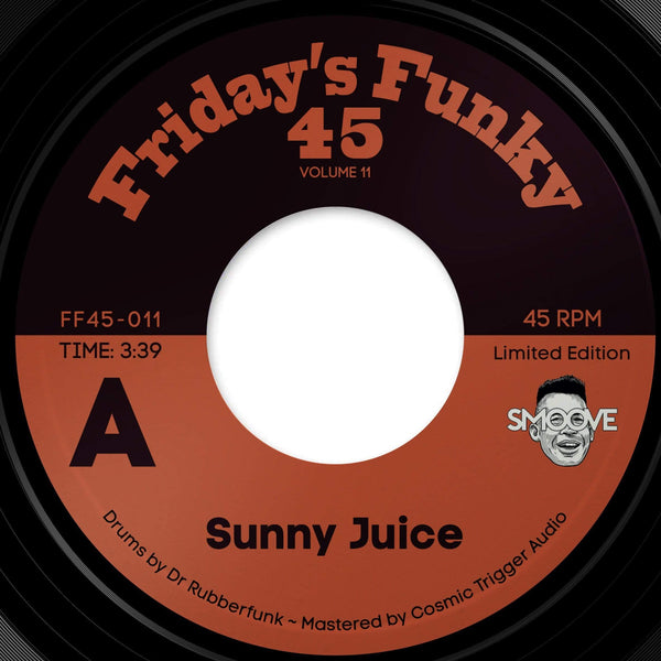"Smoove - Sunny Juice / Skeelo Wonder (7"") Dinked Records"