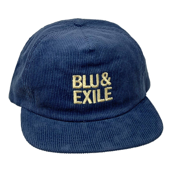 Blu & Exile - Royal & Gold (Navy Blu Hat Off Yellow Letters) Dirty Science