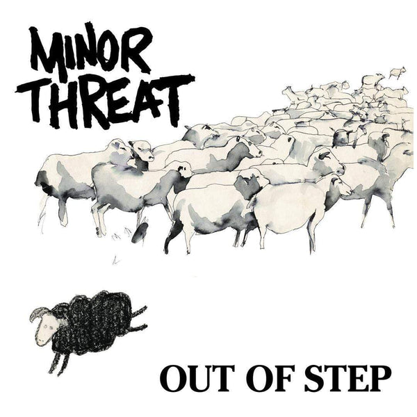 "Minor Threat - Out Of Step (EP - 12"" Vinyl) Dischord"