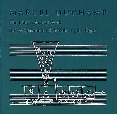Marcel Duchamp - The Entire Musical Work (CD) Dog w/a Bone