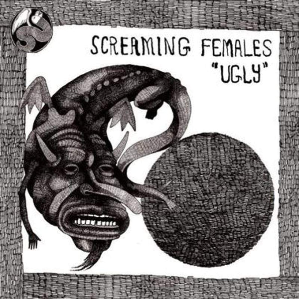 Screaming Females - Ugly (2xLP - Limited Edition Clear w/ Black Splatter Vinyl) Don Giovanni