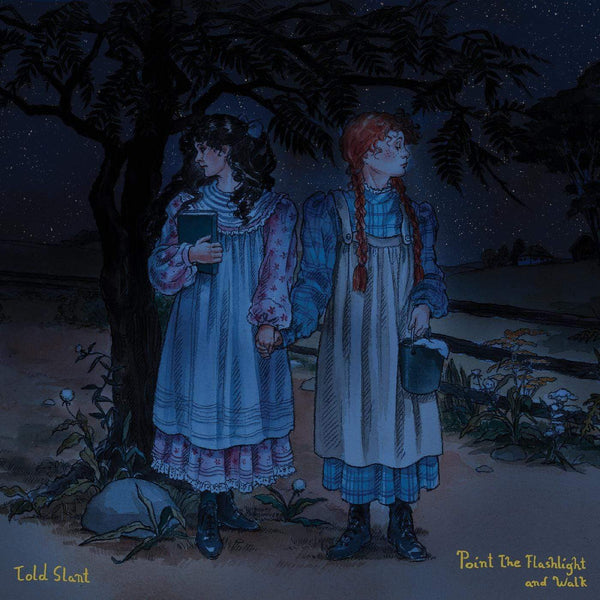 Told Slant - Point The Flashlight And Walk (LP - SEA BLUE VINYL) Double Double Whammy