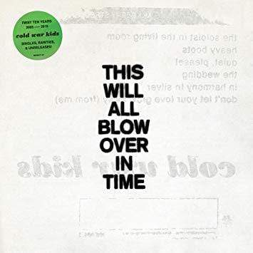 Cold War Kids - This Will All Blow Over In Time (2xLP - Translucent Yellow Vinyl) Downtown Records