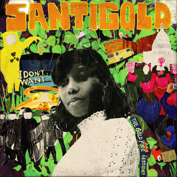 Santigold - I Don't Want: The Gold Fire Sessions (LP - Gold/Black Splatter Vinyl) Downtown Records