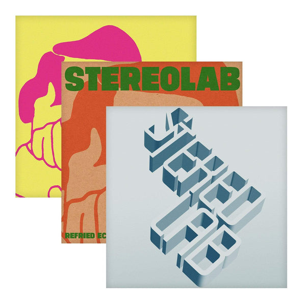 Stereolab - Switched On, Vol. 1-3 (Bundle - 6xLP - Clear Vinyl) Duophonic Records
