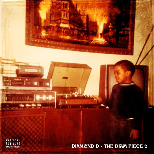 Diamond D -  The Diam Piece 2 (2xLP - Gatefold) Dymond Mine Records