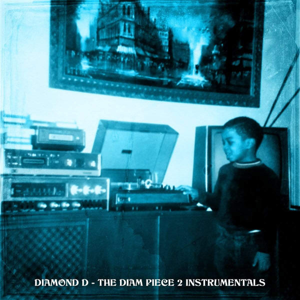 Diamond D -  The Diam Piece 2 Instrumentals (2xLP) Dymond Mine Records