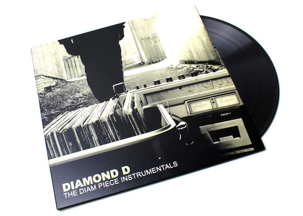 Diamond D - The Diam Piece Instrumentals (2xLP) Dymond Mine Records