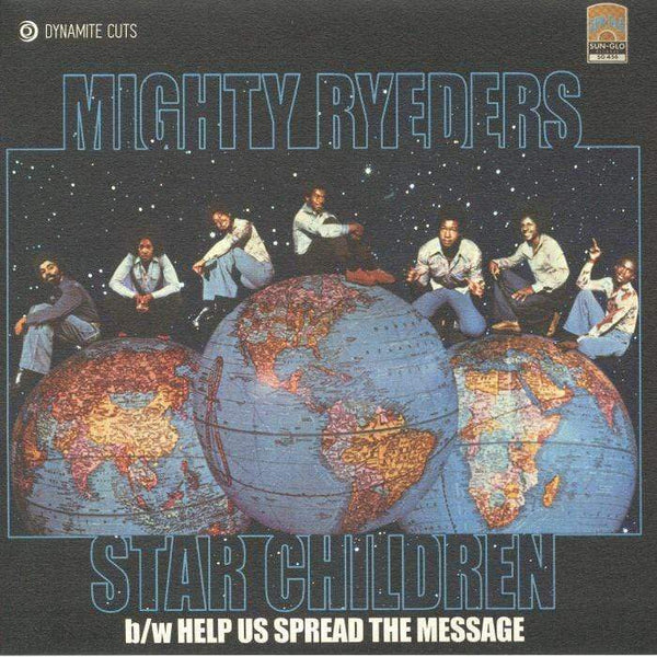"Mighty Ryeders - Star Children / Help Us Spread The Message (7"" - Import) Dynamite Cuts"