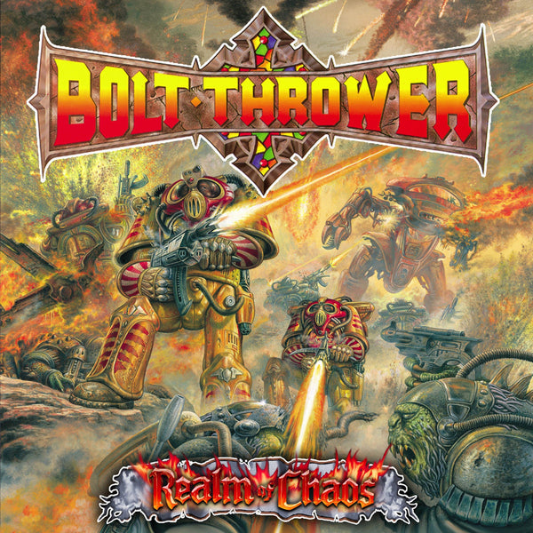 "Bolt Thrower - Realm Of Chaos (LP - Red ""Metal Matters"" Vinyl) Earache Records"