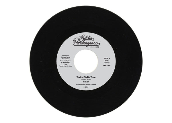 "McIVER - Trying To Be True b/w Looking In The Eyes Of Love (7"") Eddie Pendergrass Presents"
