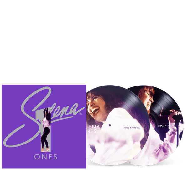 Selena - Ones (2xLP - Picture Discs/Metallic Purple Jacket) EMI Latin