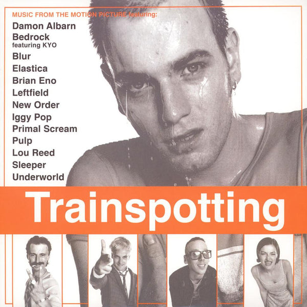 V/A - Trainspotting (2xLP - 180 Gram Orange Vinyl) EMI