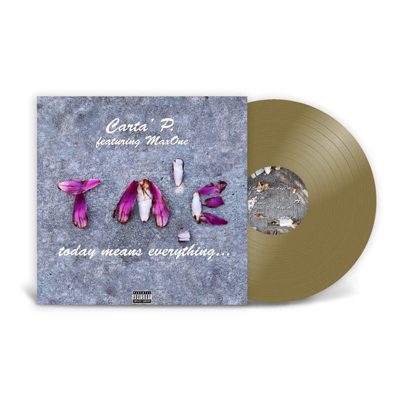Carta' P - Today Means Everything (LP - Gold Vinyl) Emo Recordings
