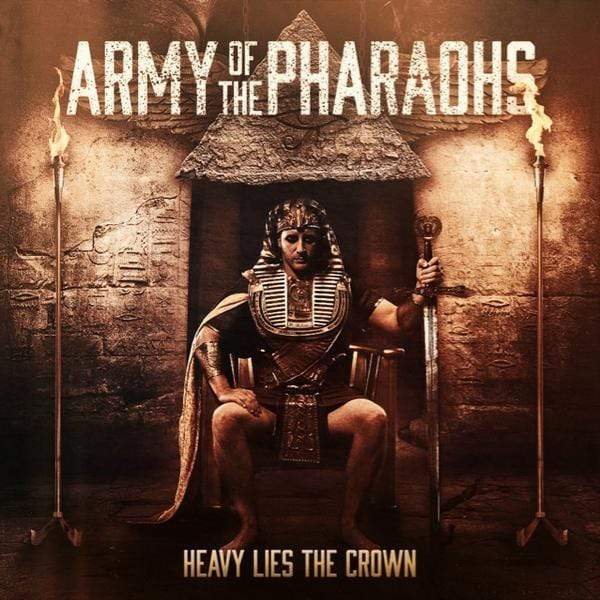 Army of the Pharaohs - Heavy Lies The Crown (2xLP - Clear Vinyl) Enemy Soil