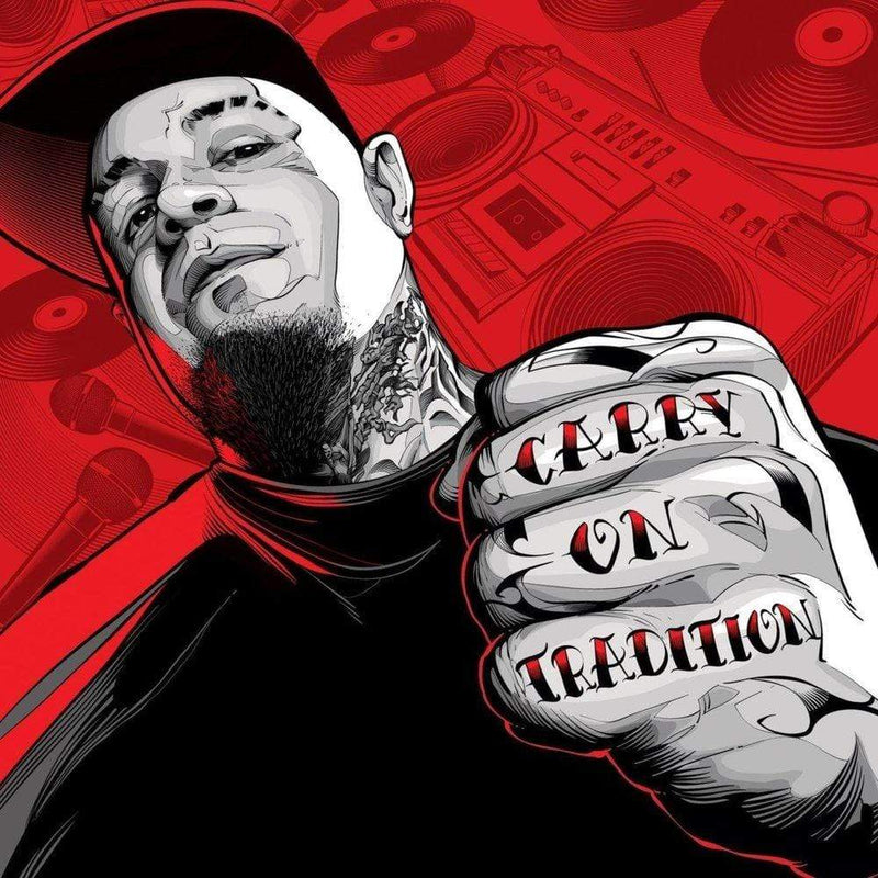 Vinnie Paz - Carry On Tradition (LP - Split Color Vinyl) Enemy Soil