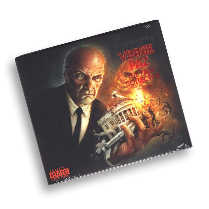 Vinnie Paz - The Pain Collector (CD) Enemy Soil