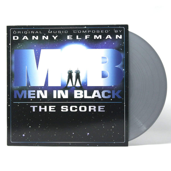 Danny Elfman - Men In Black: The Score (LP - Silver Vinyl - 20th Anniversary Vinyl Reissue) Enjoy The Ride