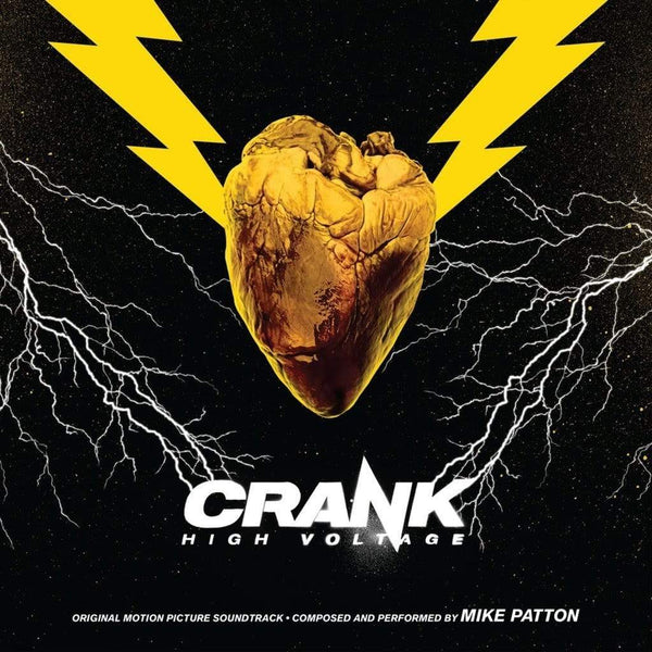 Mike Patton - Crank High Voltage: Original Motion Picture Soundtrack - (2xLP - Yellow Vinyl + 4-Page Insert) Enjoy The Ride