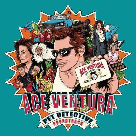 V/A - Ace Ventura: Pet Detective - Original Soundtrack (LP - Blue Vinyl) Enjoy The Ride